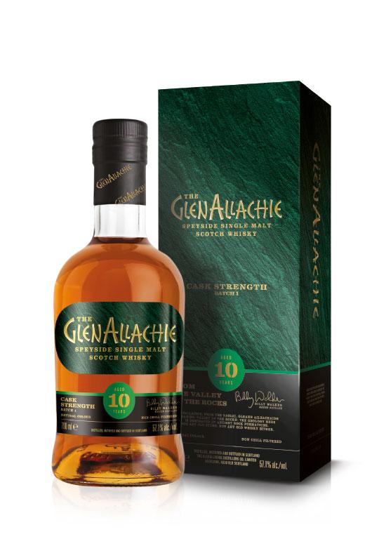 Produktfoto des 10-jährigen GlenAllachie Whisky