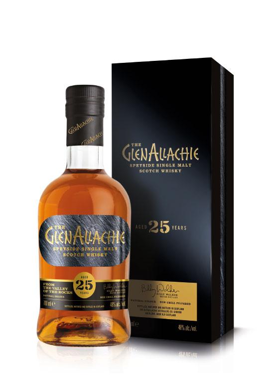 Produktfoto des GlenAllachie Whisky 25 year old