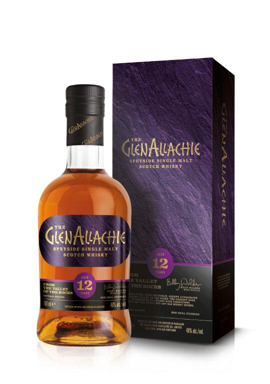 Produktfoto des GlenAllachie Whisky 12 year old